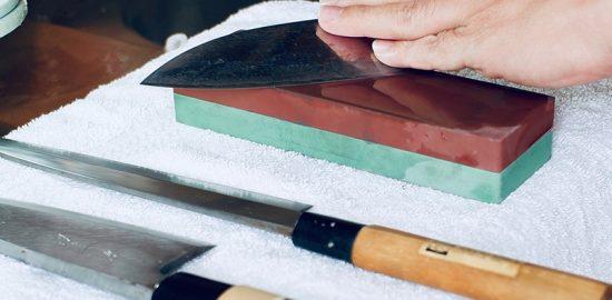 The Wet Stone Knife Sharpening Method